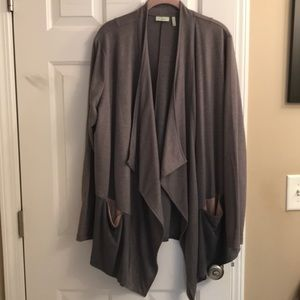 Gently worn French Terry cardigan